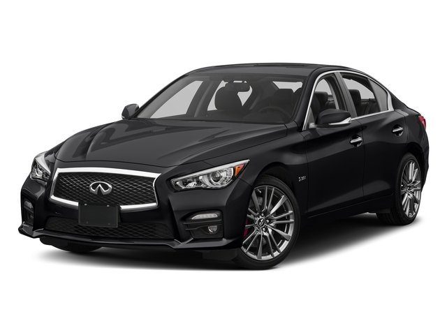 Midnight Black 2017 INFINITI Q50 Pictures Q50 Sedan 4D 3.0T Red Sport V6 Turbo photos front view