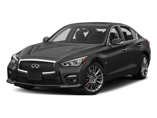 Graphite Shadow 2017 INFINITI Q50 Pictures Q50 3.0t Sport AWD photos front view