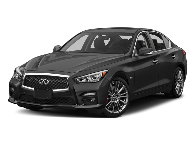 Graphite Shadow 2017 INFINITI Q50 Pictures Q50 Sedan 4D 3.0T Red Sport V6 Turbo photos front view