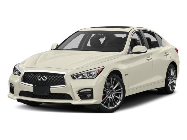 Majestic White 2017 INFINITI Q50 Pictures Q50 Sedan 4D 3.0T Red Sport V6 Turbo photos front view