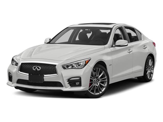 Pure White 2017 INFINITI Q50 Pictures Q50 Sedan 4D 3.0T Red Sport V6 Turbo photos front view