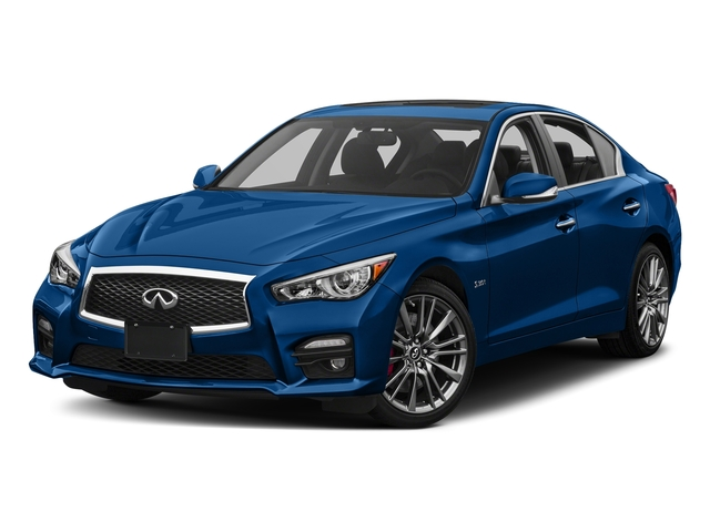Iridium Blue 2017 INFINITI Q50 Pictures Q50 Sedan 4D 3.0T Red Sport V6 Turbo photos front view
