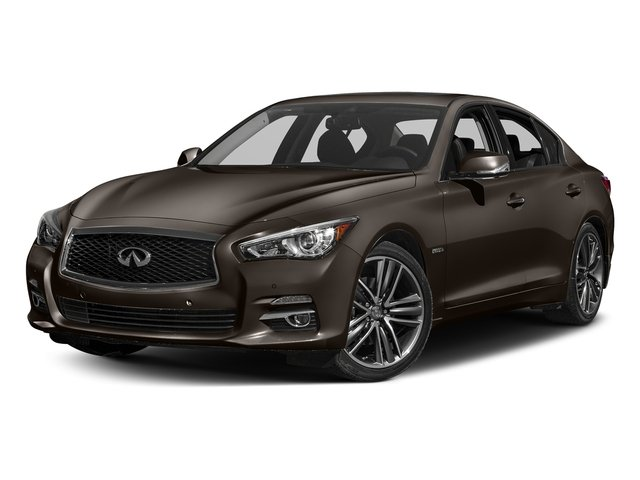 Chestnut Bronze 2017 INFINITI Q50 Hybrid Pictures Q50 Hybrid Sedan 4D AWD V6 Hybrid photos front view