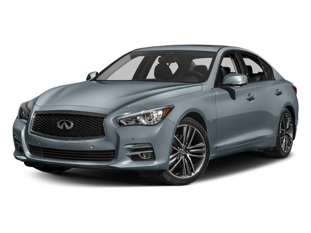 Hagane Blue 2017 INFINITI Q50 Hybrid Pictures Q50 Hybrid Sedan 4D AWD V6 Hybrid photos front view