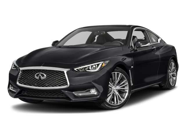 Midnight Black 2017 INFINITI Q60 Pictures Q60 Sport AWD photos front view