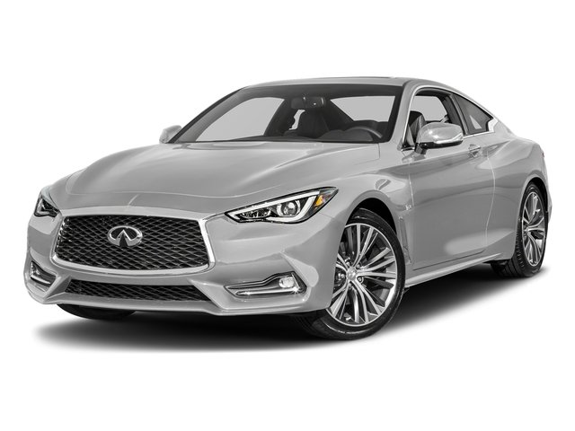Liquid Platinum 2017 INFINITI Q60 Pictures Q60 Coupe 2D 2.0T Premium AWD photos front view