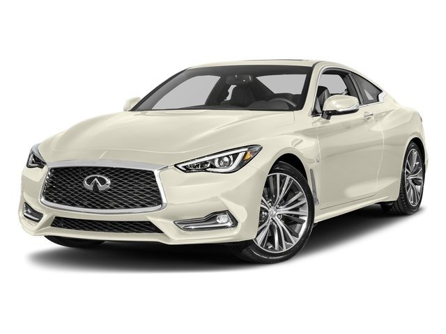 Majestic White 2017 INFINITI Q60 Pictures Q60 Coupe 2D 2.0T Premium AWD photos front view