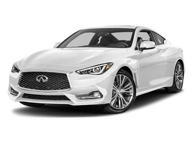 Pure White 2017 INFINITI Q60 Pictures Q60 Coupe 2D 2.0T Premium AWD photos front view