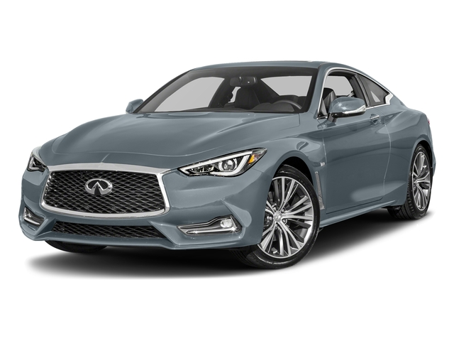 Hagane Blue 2017 INFINITI Q60 Pictures Q60 Sport AWD photos front view