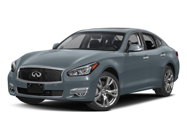 Hagane Blue 2017 INFINITI Q70 Pictures Q70 Sedan 4D AWD V6 photos front view