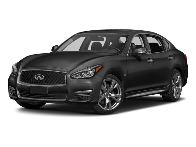 Graphite Shadow 2017 INFINITI Q70L Pictures Q70L 5.6 RWD photos front view