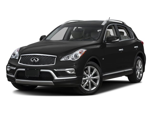 Black Obsidian 2017 INFINITI QX50 Pictures QX50 RWD photos front view