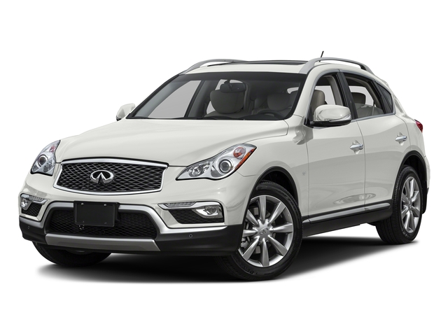 Majestic White 2017 INFINITI QX50 Pictures QX50 RWD photos front view
