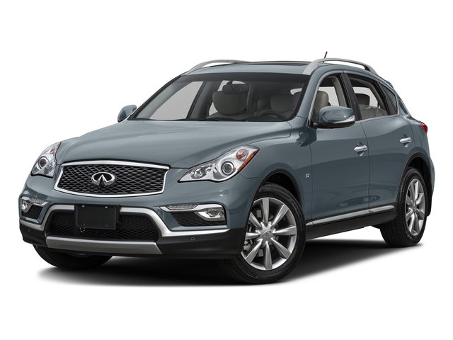 Hagane Blue 2017 INFINITI QX50 Pictures QX50 RWD photos front view