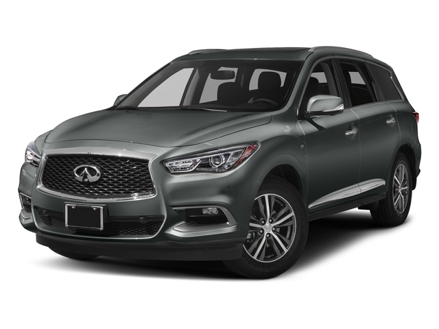 Graphite Shadow 2017 INFINITI QX60 Pictures QX60 Utility 4D 2WD V6 photos front view