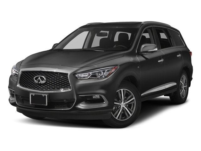 Black Obsidian 2017 INFINITI QX60 Pictures QX60 Utility 4D AWD V6 photos front view