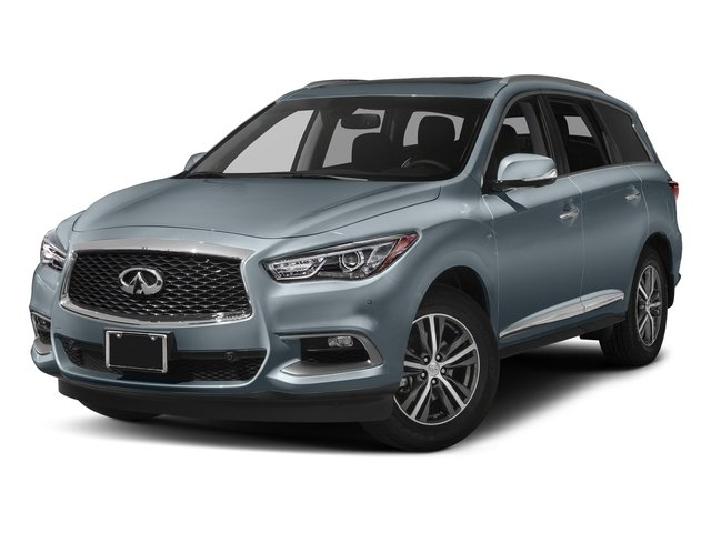 Hagane Blue 2017 INFINITI QX60 Pictures QX60 Utility 4D AWD V6 photos front view