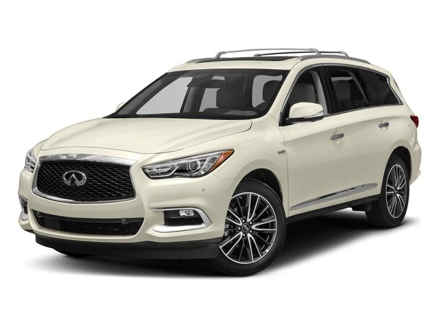 Majestic White 2017 INFINITI QX60 Hybrid Pictures QX60 Hybrid AWD photos front view