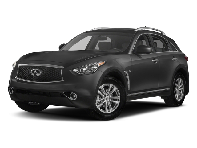 Graphite Shadow 2017 INFINITI QX70 Pictures QX70 RWD photos front view