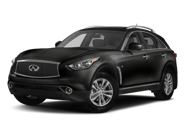 Black Obsidian 2017 INFINITI QX70 Pictures QX70 RWD photos front view