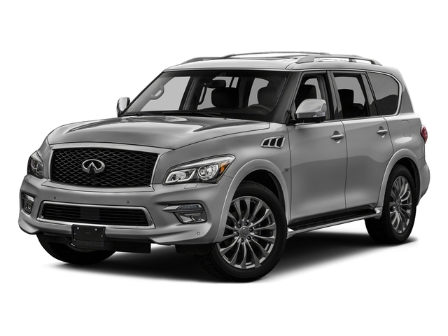 Liquid Platinum 2017 INFINITI QX80 Pictures QX80 AWD photos front view