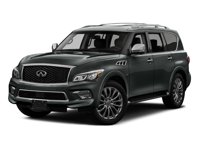 Graphite Shadow 2017 INFINITI QX80 Pictures QX80 Utility 4D Signature 2WD V8 photos front view