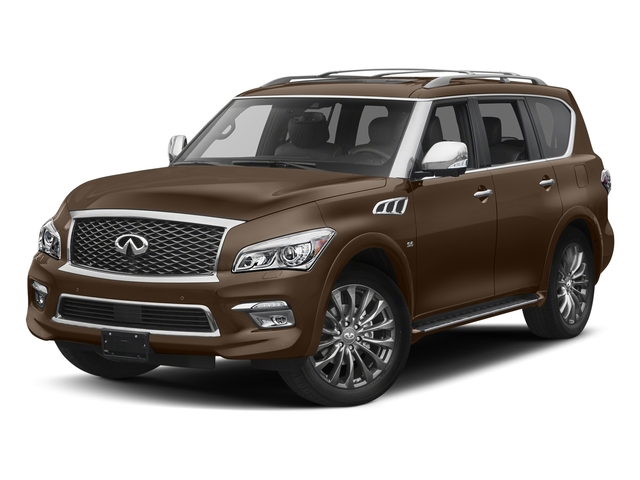 Dakar Bronze 2017 INFINITI QX80 Pictures QX80 Utility 4D Limited AWD V8 photos front view
