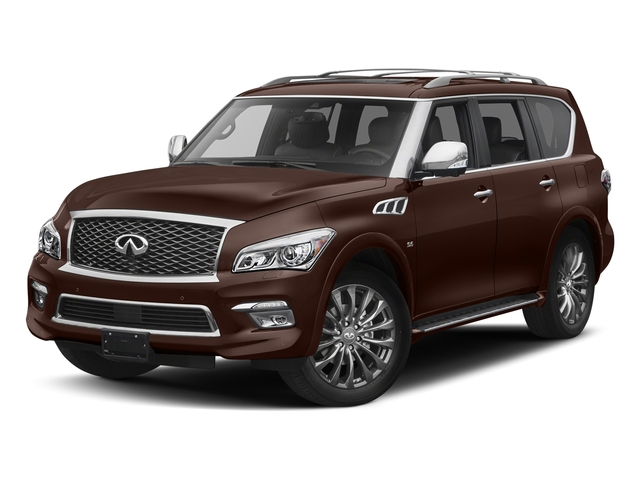 Mocha Almond 2017 INFINITI QX80 Pictures QX80 Utility 4D Limited AWD V8 photos front view