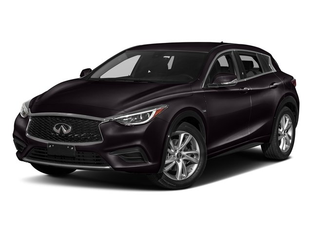 Malbec Black 2017 INFINITI QX30 Pictures QX30 Luxury FWD *Ltd Avail* photos front view