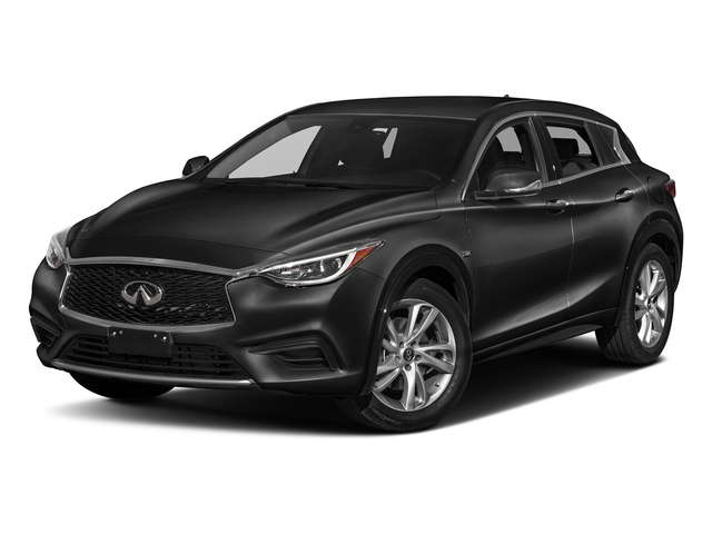 Black Obsidian 2017 INFINITI QX30 Pictures QX30 Utility 4D Luxury AWD photos front view