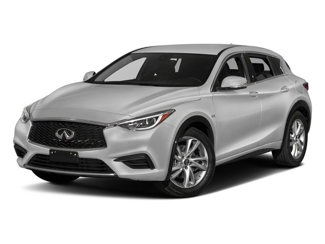 Blade Silver 2017 INFINITI QX30 Pictures QX30 Luxury FWD *Ltd Avail* photos front view