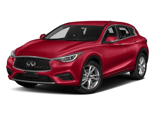 Magnetic Red 2017 INFINITI QX30 Pictures QX30 Luxury FWD *Ltd Avail* photos front view