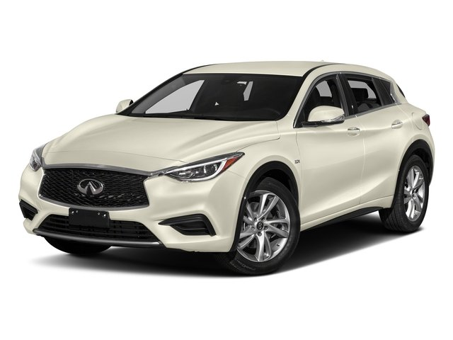 Majestic White 2017 INFINITI QX30 Pictures QX30 Luxury FWD *Ltd Avail* photos front view