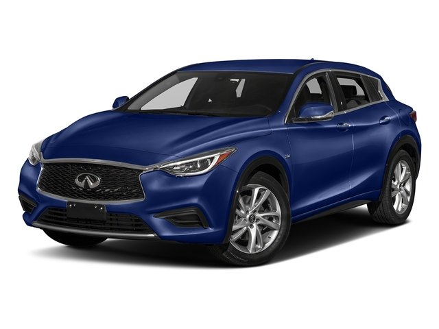 Ink Blue 2017 INFINITI QX30 Pictures QX30 Luxury FWD *Ltd Avail* photos front view