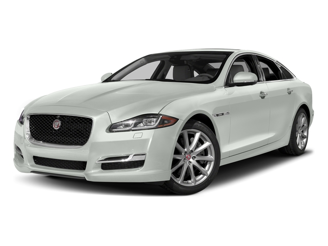 Polaris White 2017 Jaguar XJ Pictures XJ Sedan 4D R-Sport AWD V6 Supercharged photos front view
