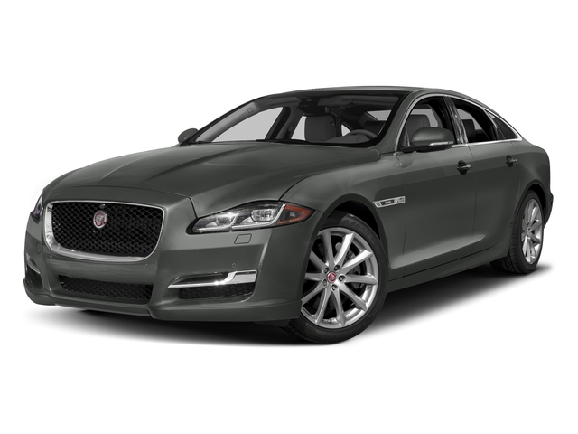 Ammonite Gray Metallic 2017 Jaguar XJ Pictures XJ Sedan 4D V8 Supercharged photos front view