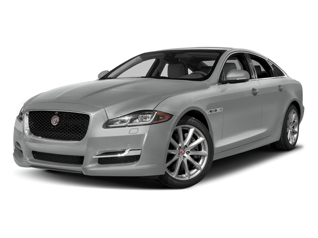 Rhodium Silver Metallic 2017 Jaguar XJ Pictures XJ Sedan 4D R-Sport AWD V6 Supercharged photos front view