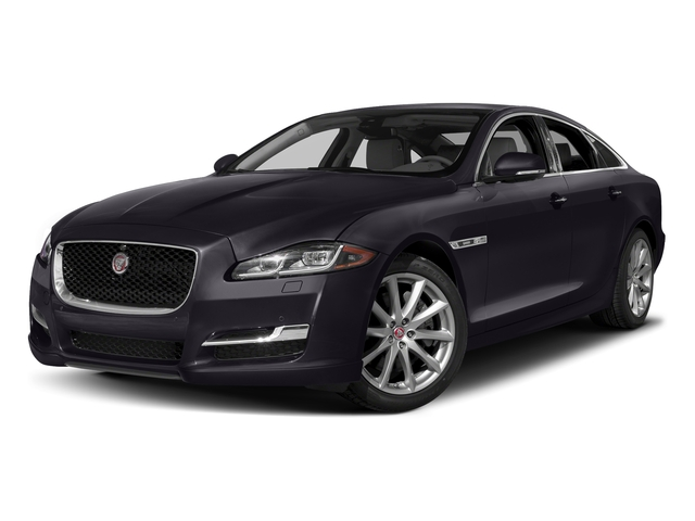 Black Berry 2017 Jaguar XJ Pictures XJ Sedan 4D V8 Supercharged photos front view