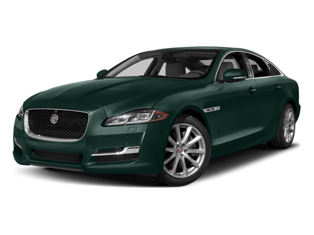 British Racing Green Metallic 2017 Jaguar XJ Pictures XJ Sedan 4D R-Sport AWD V6 Supercharged photos front view