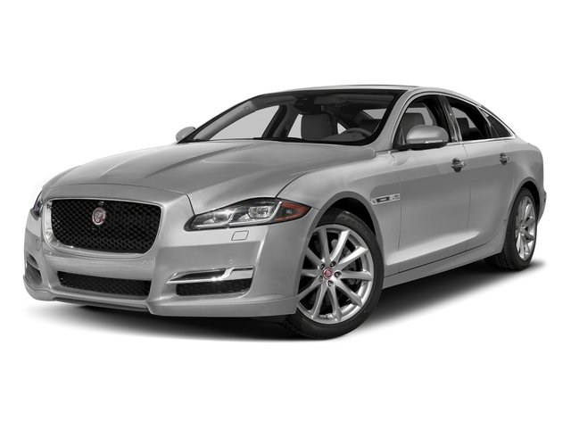 Gallium Silver 2017 Jaguar XJ Pictures XJ Sedan 4D V8 Supercharged photos front view