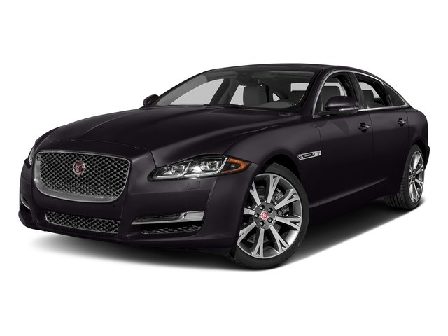Black Berry 2017 Jaguar XJ Pictures XJ XJL Supercharged RWD photos front view