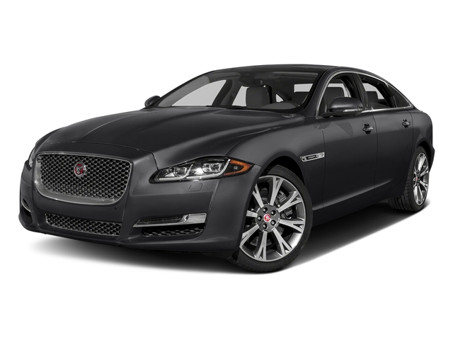 Storm Gray 2017 Jaguar XJ Pictures XJ XJL Supercharged RWD photos front view