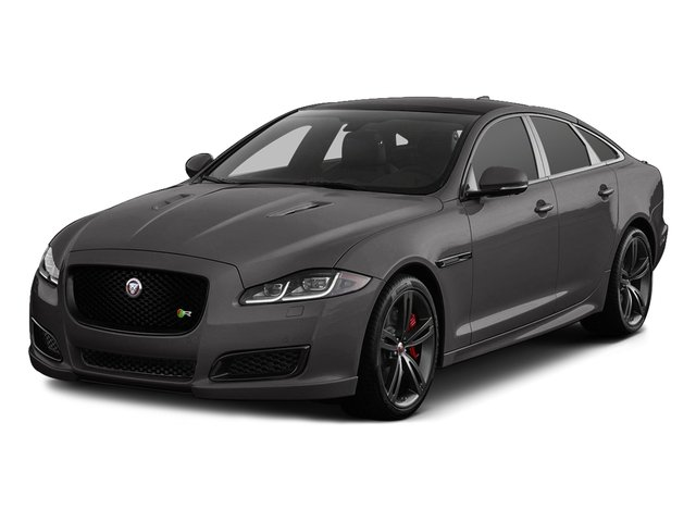 Ammonite Gray Metallic 2017 Jaguar XJ Pictures XJ Sedan 4D XJR V8 Supercharged photos front view