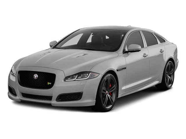 Rhodium Silver Metallic 2017 Jaguar XJ Pictures XJ Sedan 4D XJR V8 Supercharged photos front view