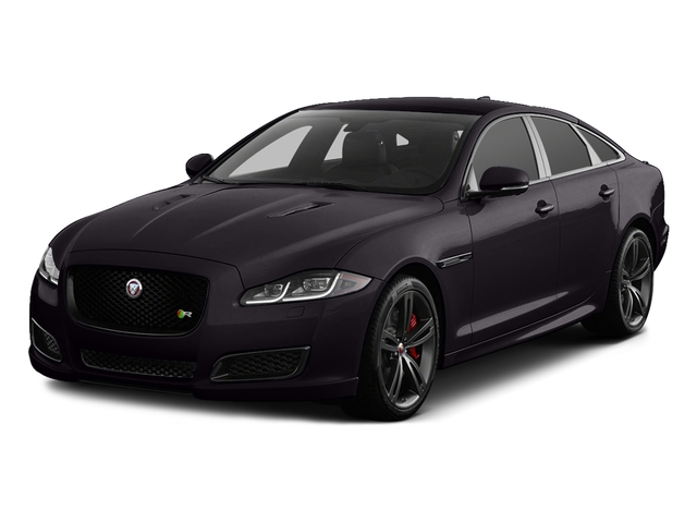 Black Berry 2017 Jaguar XJ Pictures XJ Sedan 4D XJR V8 Supercharged photos front view