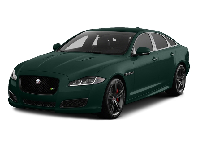 British Racing Green Metallic 2017 Jaguar XJ Pictures XJ Sedan 4D XJR V8 Supercharged photos front view