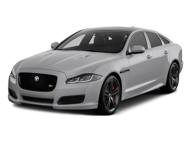 Glacier White Metallic 2017 Jaguar XJ Pictures XJ Sedan 4D XJR V8 Supercharged photos front view