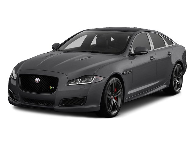 Tempest Gray 2017 Jaguar XJ Pictures XJ Sedan 4D XJR V8 Supercharged photos front view