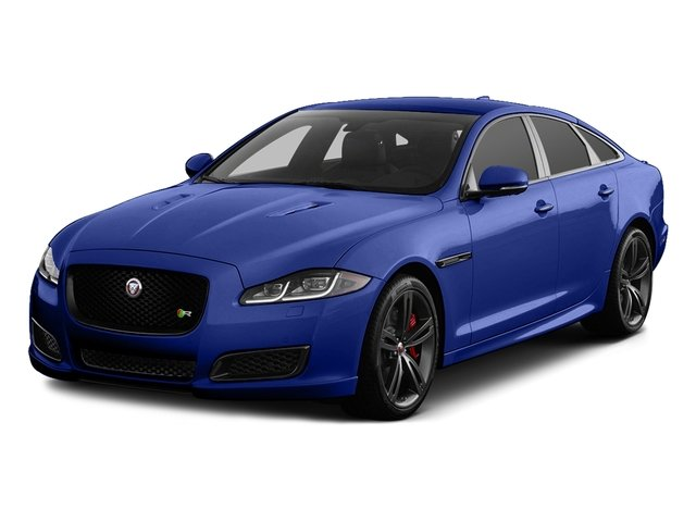 Caesium Blue Metallic 2017 Jaguar XJ Pictures XJ Sedan 4D XJR V8 Supercharged photos front view