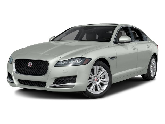 Polaris White 2017 Jaguar XF Pictures XF Sedan 4D 35t Premium V6 Supercharged photos front view
